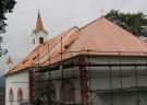 Bohumilice kostel - oprava krovu a střechy 2006