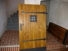 Bohumilice zámek - výroba nových dřevěných dveří 2007