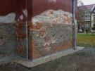 Palackého nám. kostel - sanace zdiva 2012
